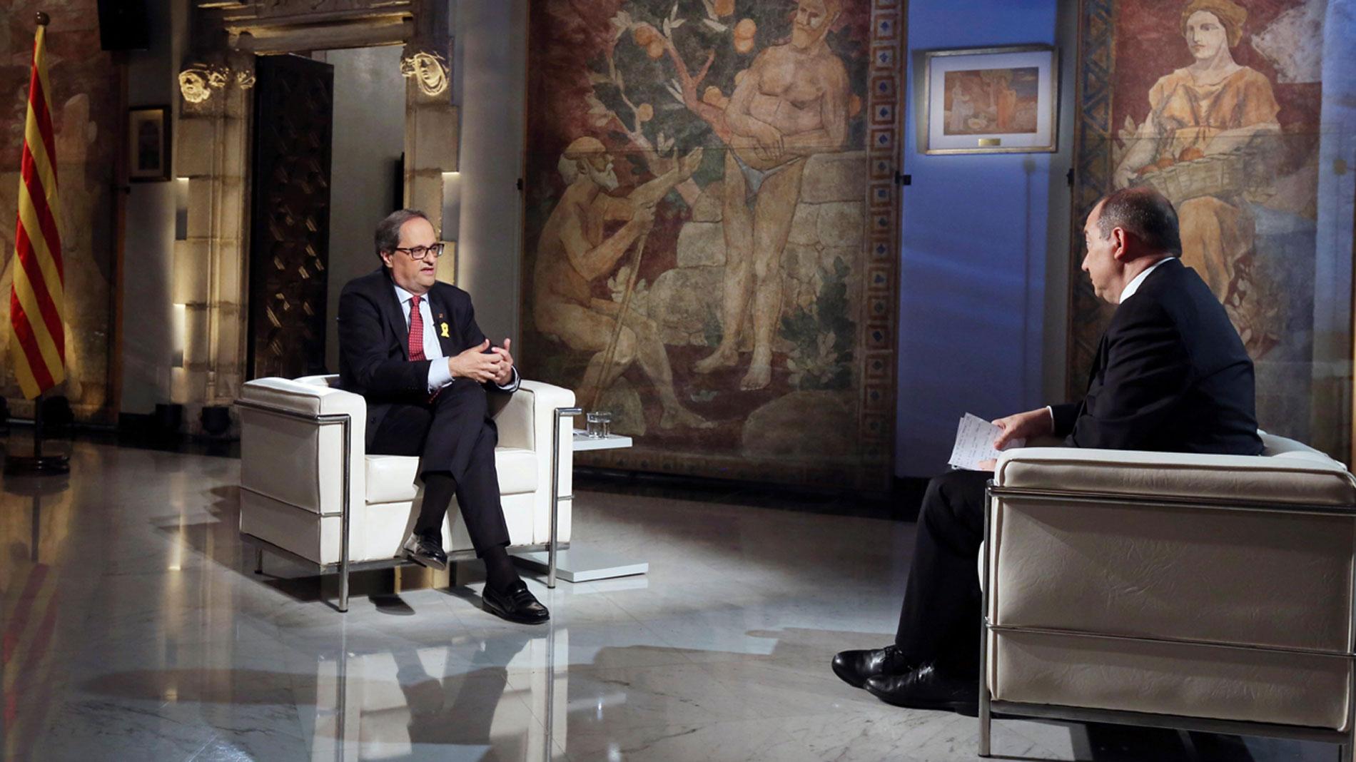 """Ir al VideoTorra preguntará a Sánchez por el """"derecho de autodeterminación"""" de Cataluña"""
