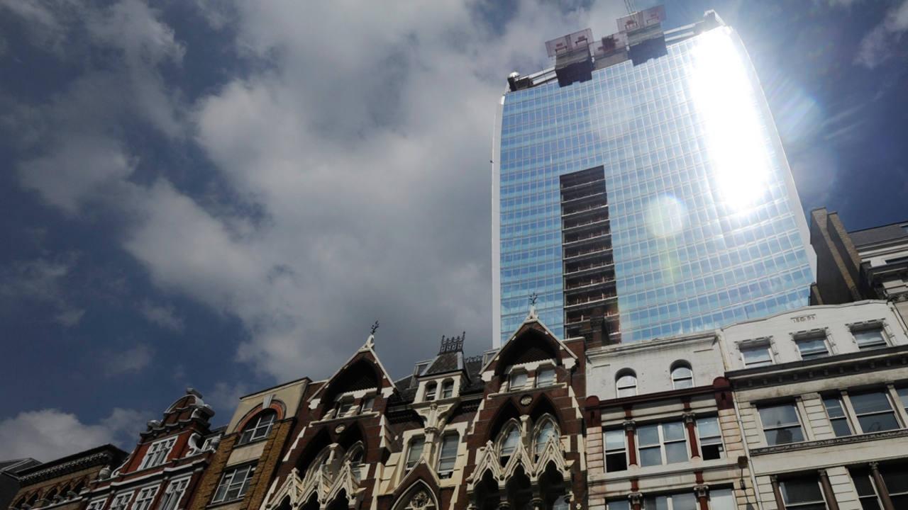 La torre 20 Fenchurch Street en Londres