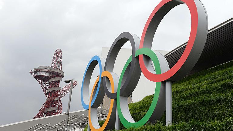 La torre Orbit es el símbolo del parque olímpico