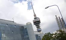 La torre de Telecom Italia en Roma