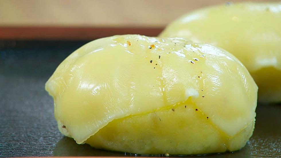 Torres en la cocina - Patatas rellenas de queso