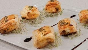Saber Cocinar - Tostas de bacalao ahumado con mermelada de naranja