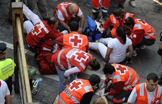 La tragedia ha llegado hoy a San Fermín