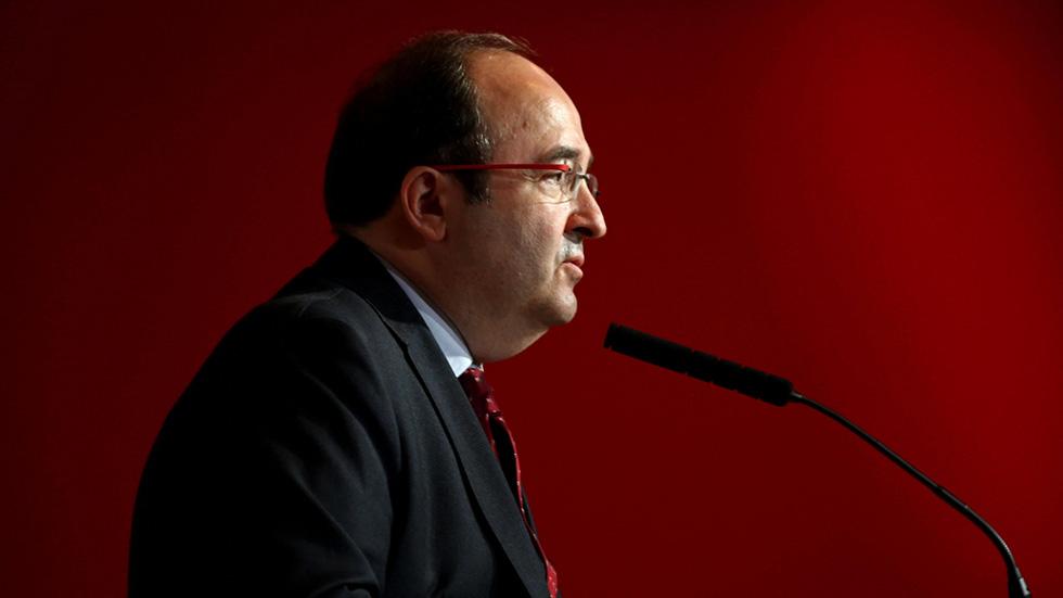 Tras la reunión en Ferraz, Iceta sigue instalado en el no a Rajoy