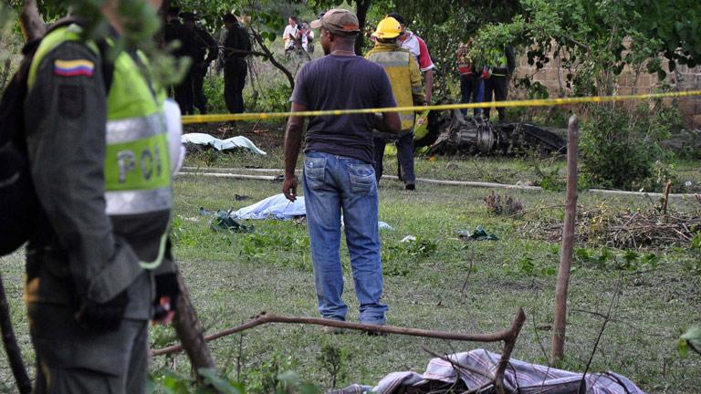 Trece muertos en Colombia al estrellarse un helicóptero militar