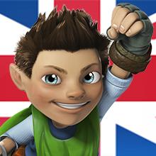 Tree Fu Tom en inglés