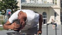Ir al VideoUna treintena de provincias españolas, en alerta por la primera ola de calor del año