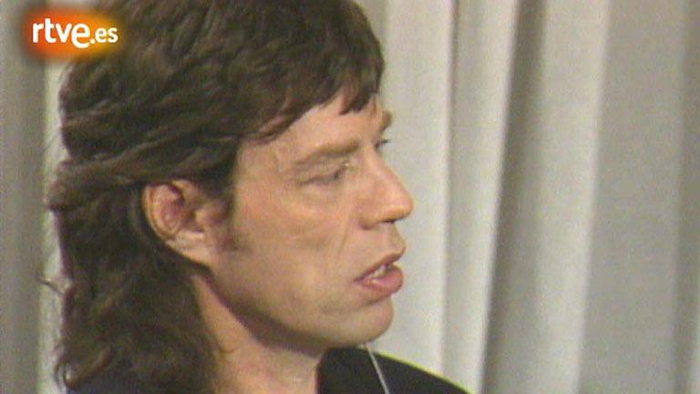 Pilar Trenas entrevista a Mick Jagger (1987)