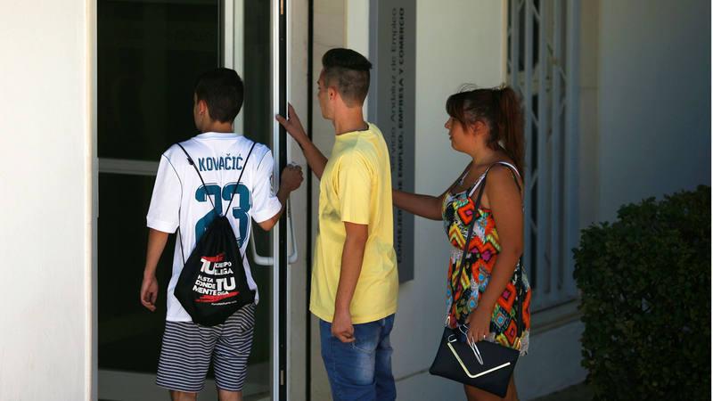 Espa a lidera el paro juvenil en la ocde con casi un 40 for Oficina de paro madrid