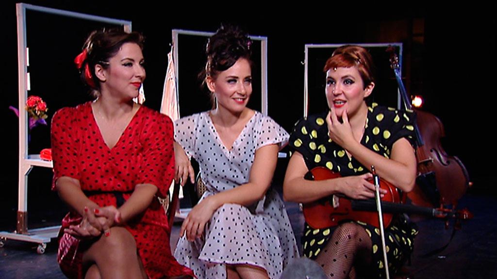 Tres mujeres instrumentistas, de formación clásica, conquistan la escena con un espectáculo de música y teatro