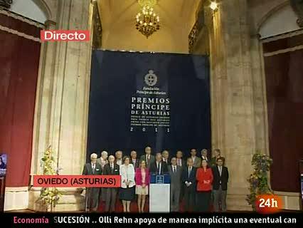 Ver vídeo  'Tres neurobiólogos, Premio Príncipe de Asturias de Investigación Científica 2011'