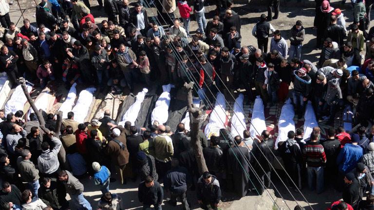 Tres periodistas, entre ellos un español, atrapados en la ciudad siria de Homs