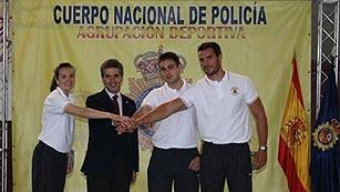 Tres policías españoles compiten en los Juegos de Londres