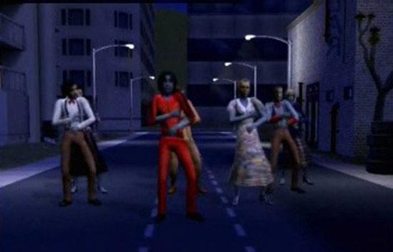 Zoom Net - Tributo de los Sims a Michael Jackson