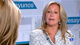 Los desayunos de TVE - Trinidad Jiménez, Secretaria de Política social del PSOE