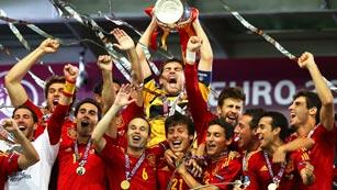 La triple corona de 'La Roja'