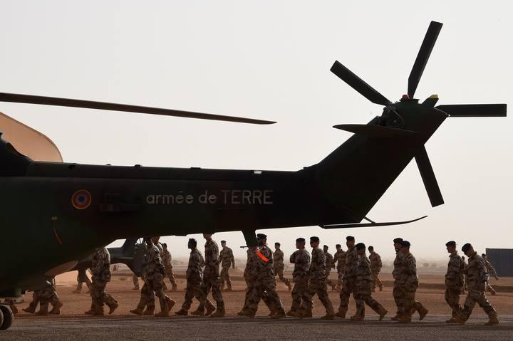Tropas francesas de la operación Barkhane en la ciudad maliense de Gao