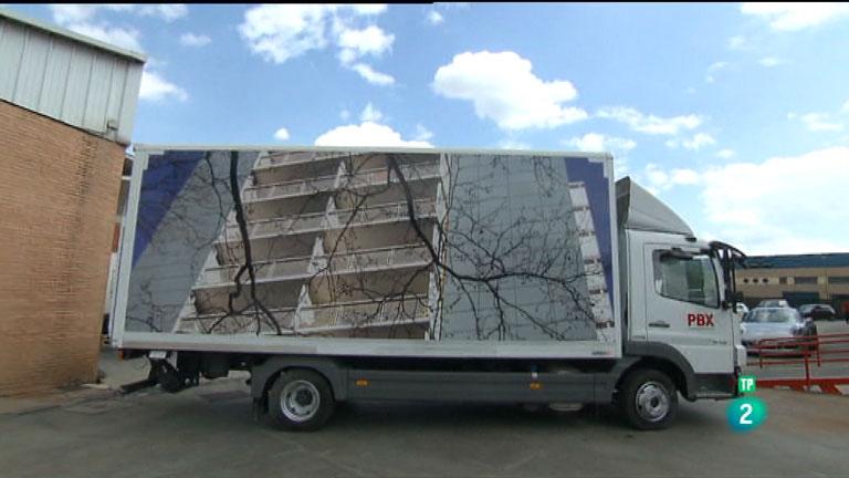 La Aventura del Saber. TVE. Kilómetros de arte. Truck Art Project