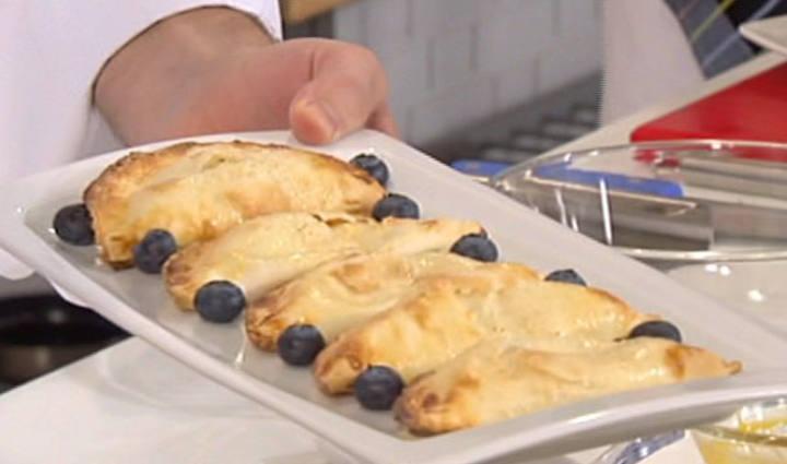 Los trucos de sergio empanadillas dulces con crema de frutas y pescado congelado o fresco - Cocinar pescado congelado ...
