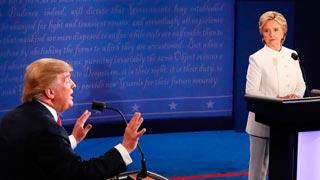 Trump no confirma si reconocerá el resultado de las elecciones si gana Clinton