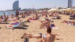 El sector turístico-clave en la economía española