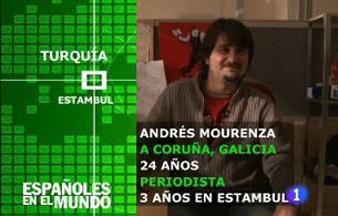 Españoles en el mundo - Turquía - Andrés