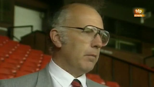 TVE con el fútbol inglés en 1990