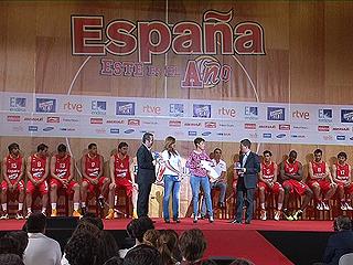 TVE ofrece la gira preolímpica de la selección de Baloncesto