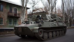 Ucrania se prepara para una guerra con los rebeldes durante el crudo invierno