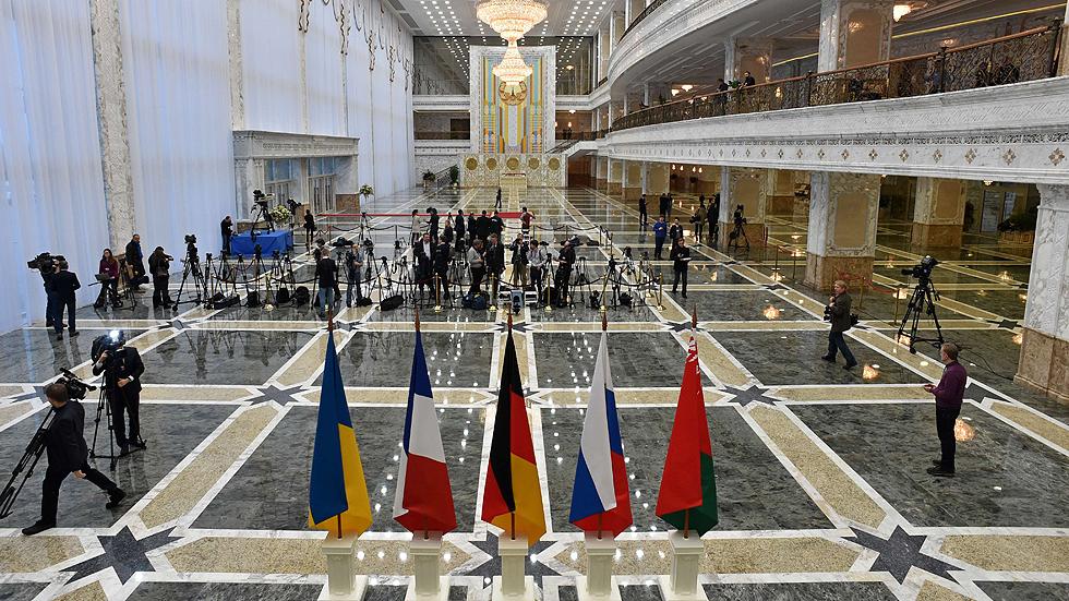 """Hollande, Merkel, Putin y Poroshenko buscan una """"última oportunidad"""" para la diplomacia en Ucrania"""