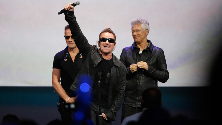 El último album de U2, gratis en iTunes de Apple