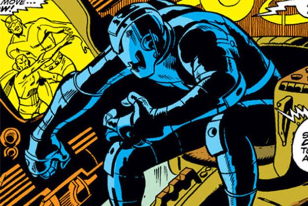 Ultrón, es un malvado robot creado por Hank Pym (El Hombre Hormiga), que fue creado por Roy Thomas y John Buscema en el nº 55 de la colección (aunque en el 54 hacía un cameo)