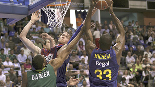 Unicaja 57-89 Barcelona Regal