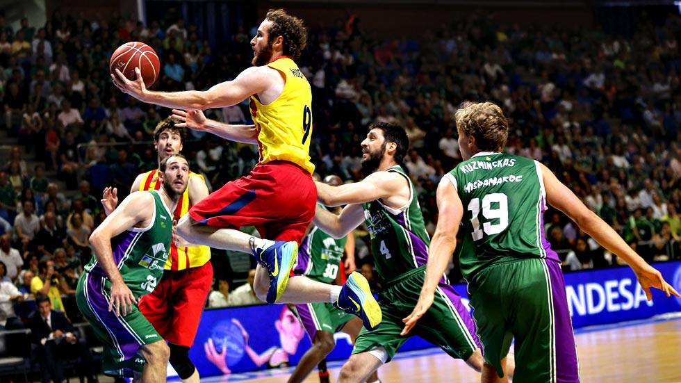 Baloncesto liga endesa el bar a le roba a unicaja la for Unicaja barcelona oficinas