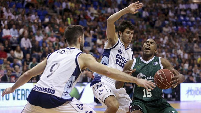 Unicaja 74 - Gipuzkoa Basket 59