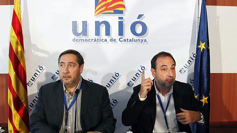 Unió da libertad de voto a sus militantes en la consulta del 9N