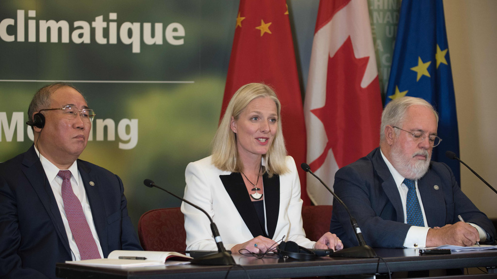 La Unión Europea reitera en Canadá su compromiso con el Acuerdo climático de París