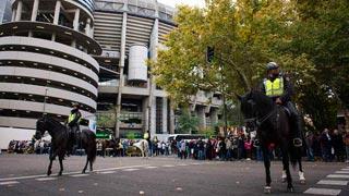 Unos 1.800 policías velarán por la seguridad del Madrid - Bayern