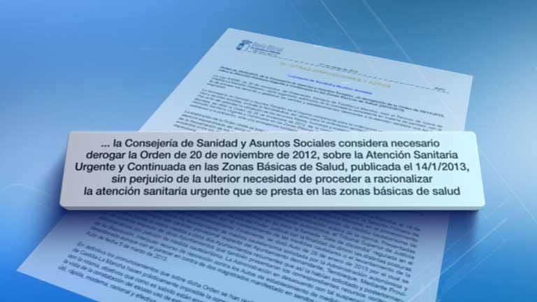 La Junta de Castilla La Mancha deroga la orden de cierre de las urgencias nocturnas