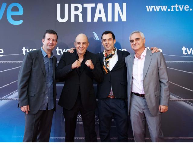 'Urtain' en Estudio 1, presentada en San Sebastián
