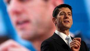 Paul Ryan aprovecha su discurso para destacar las líneas más duras del partido republicano