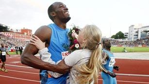 Usain Bolt se lleva por delante la Diamond League y lo que le pongan