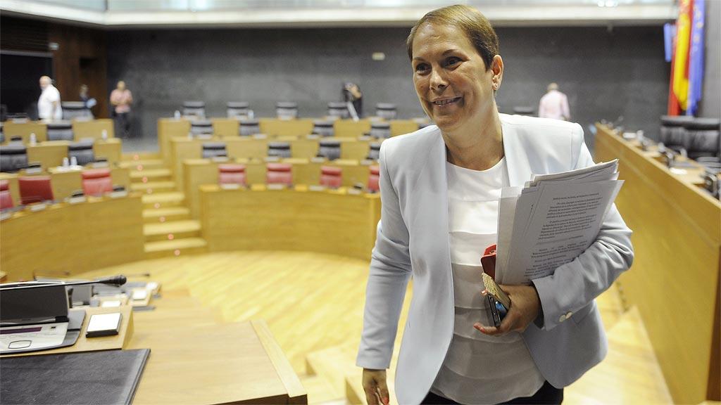 Uxue Barkos, investida nueva presidenta de Navarra