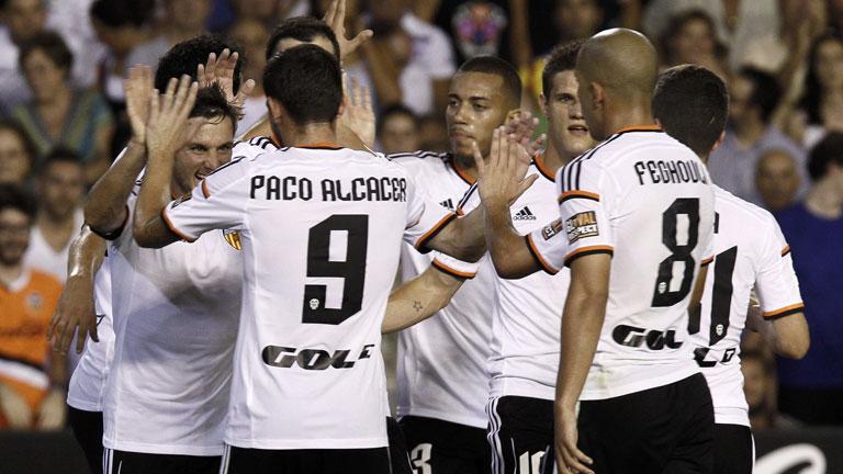 Valencia 3 - Málaga 0