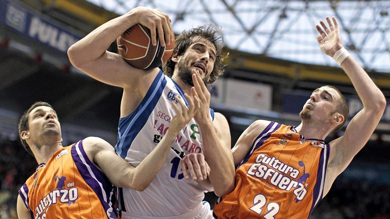 Valencia Basket 75 - 67 Lagun Aro