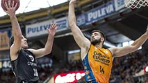 Ir al Video Valencia Basket 76 - Dominion Bilbao 80