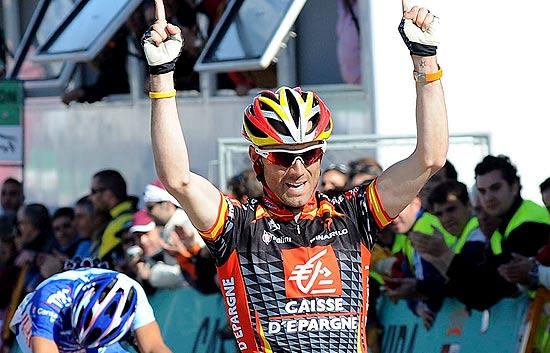Valverde gana la última etapa de Castilla y León