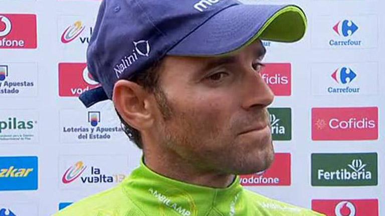 "Valverde: ""He visto a Nibali sufriendo"""