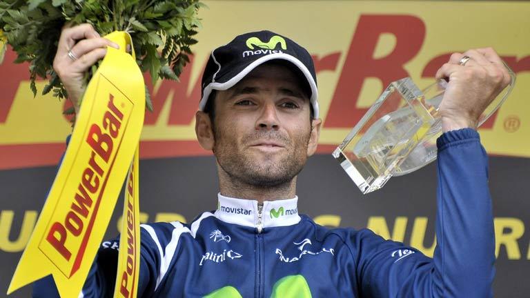Valverde reina en los Pirineos