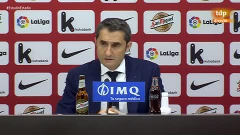 """Valverde: """"Sabemos de lo que es capaz el Barça en su campo"""""""